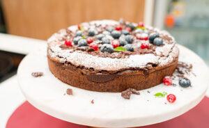 choc brownie cake