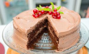 luxury choc cake